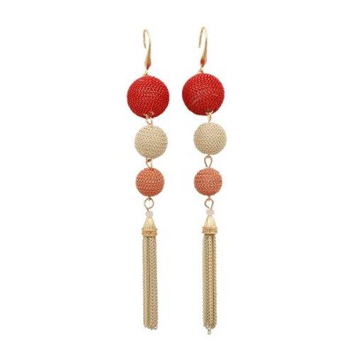 Kenzie Earrings Red