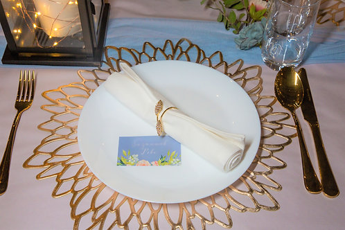Snow White Dinner Plate HIRE
