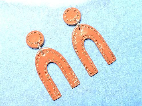 Fire Clay Co Billie Drop Earrings