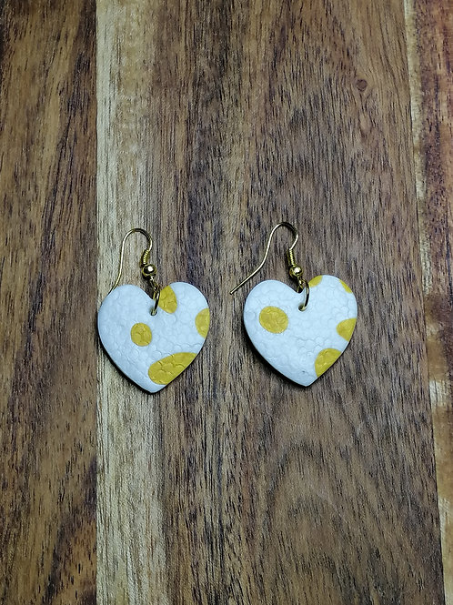 Wild and Free Cassie Heart earrings