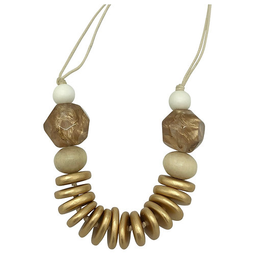 Casa Necklace bronze
