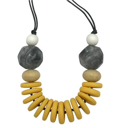 Casa Necklace yellow