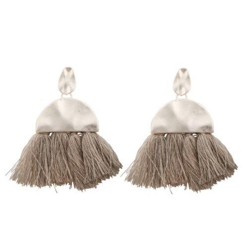 Daphne Earrings Grey