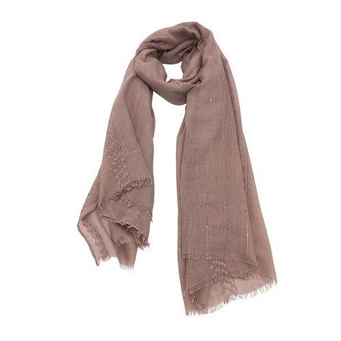 Charlotte Wrap/Scarf blush pink