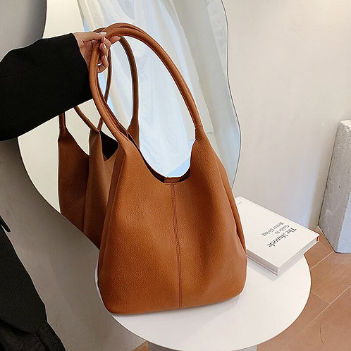 Bucket Bag Casual New Autumn Large Bag Shoulder Bag  Women's Handbag Tote Bag
