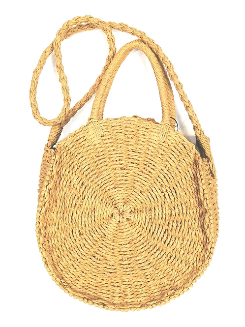 Minty Woven Bag Natural