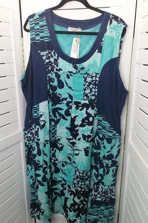 ORIENTIQUE AUSTRALIA Lined Rayon Dress