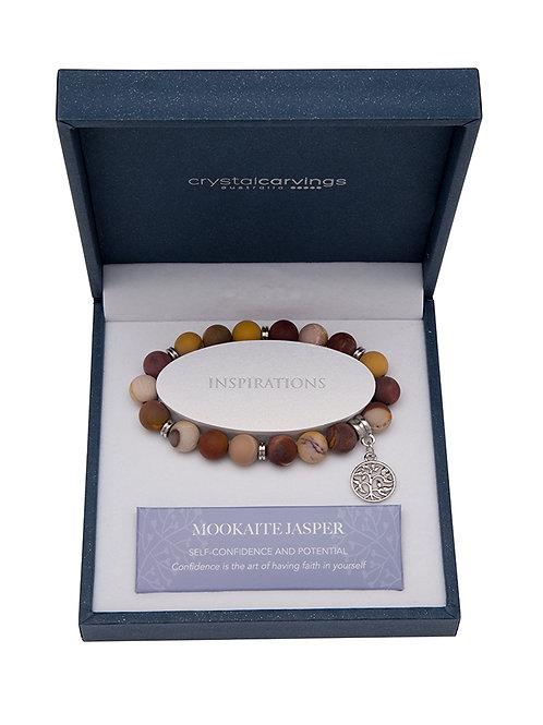 Mookaite Tree of Life Bracelet – Matte