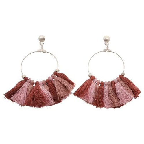 Quilla Earrings Pink