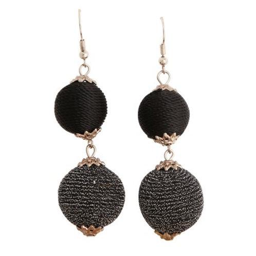 Teigan Earrings Black