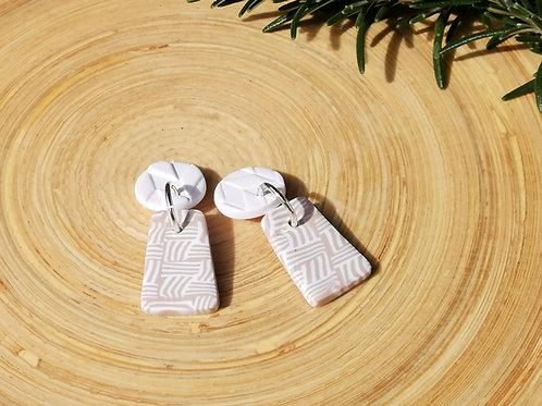 Fire Clay Co Pixi Drop Earrings