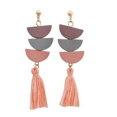 Trixie Earrings Pink