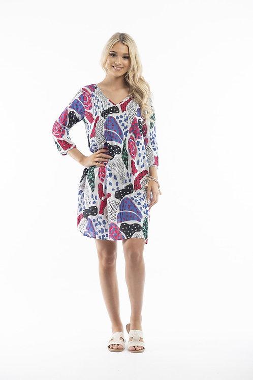 ONE SUMMER ezy fit cotton dress