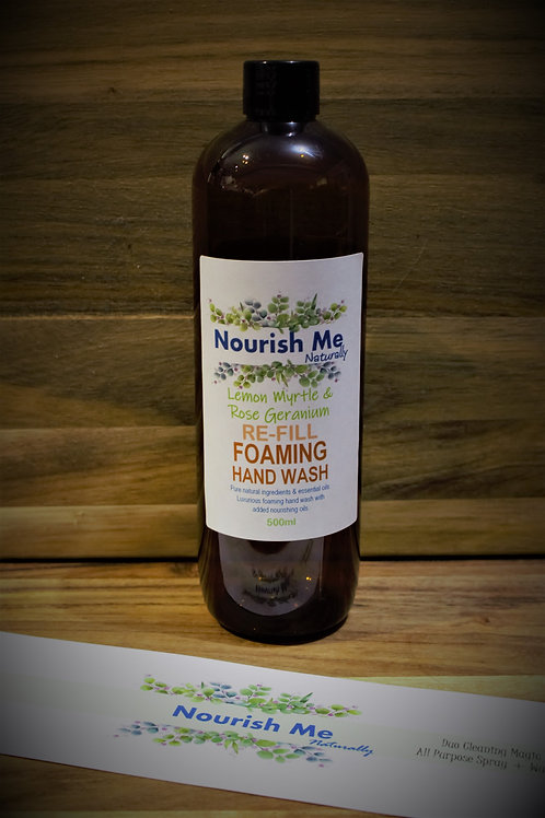 Nourish Me Naturally Foaming Hand Wash REFILL