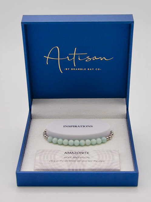 Amazonite adjustable Bracelet