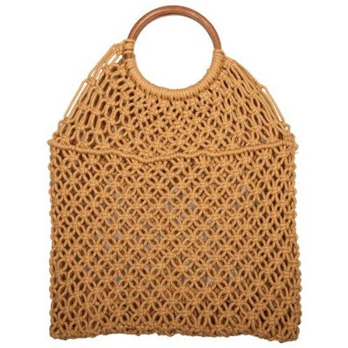 Macrame Bag Almond