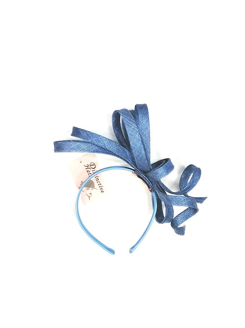Delia Fascinator Blue