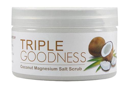 Triple Goodness - Coconut Magnesium Salt Scrub (250g)