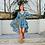 Thumbnail: Harlow print high low dress Jaase