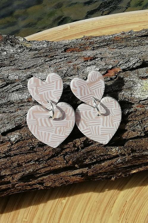 Fire Clay Co True Love Drop Earrings
