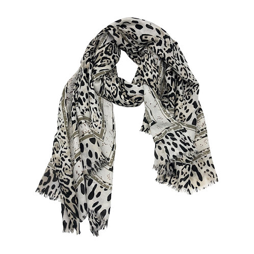 Mahalia Animal Print Scarf/Wrap
