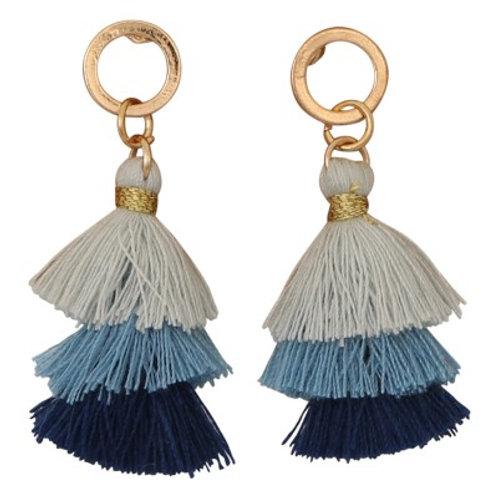 Taya Earrings Blue