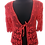 Thumbnail: Red lace cotton jacket