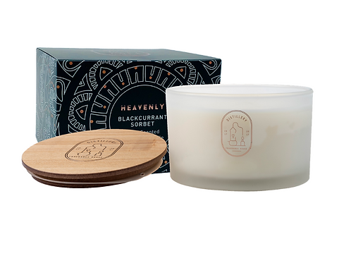 Distillery Soy Candle 450g HEAVENLY Blackcurrant Sorbet