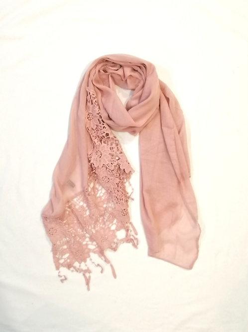 Romance & Lace Scarf blush