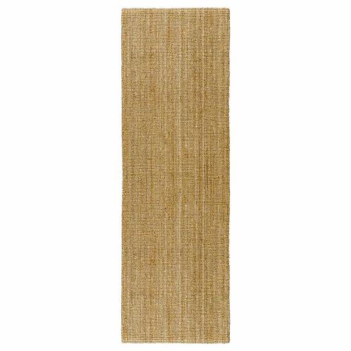 2.5 metre jute aisle rugs HIRE