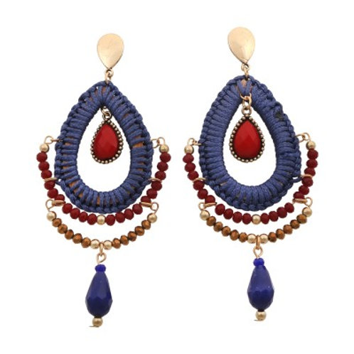Scout Earrings Blue