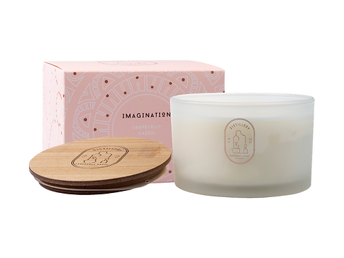 Distillery Soy Candle 450g IMAGINATION Grapefruit Cassis