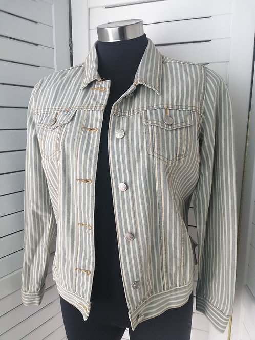 Threadz Denim stripe Jacket