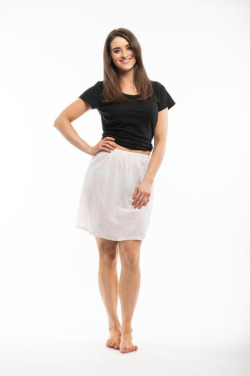 100% Cotton skirt slips
