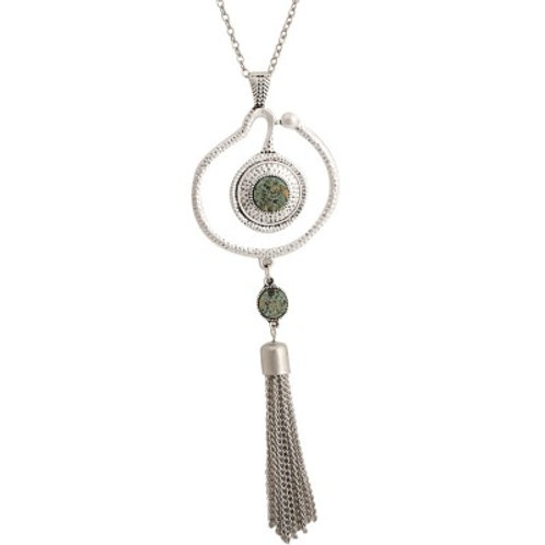 Cassidy Necklace Silver