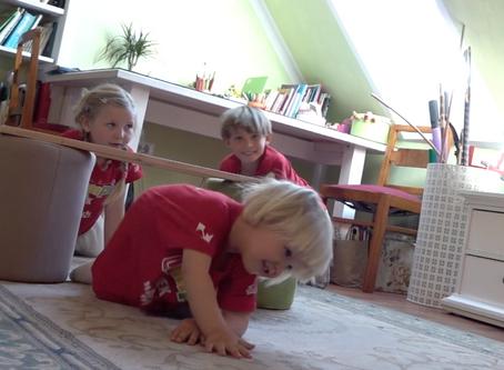 Otroška vadba doma