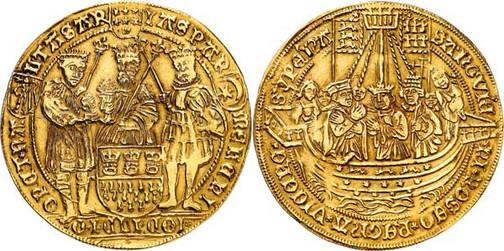 Nr. 3724: KÖLN. Stadt. Goldabschlag zu 4 Goldgulden von den Stempeln des Dreikönigstalers o. J. (um 1620). Äußerst selten. Sehr schön. Aus Sammlung Bankhaus Sal. Oppenheim. Taxe: 50 000,– Euro
