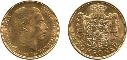 20 Kronen 1915, Kursmünze, Gold 900er, 8,96 g, Ø 22 mm