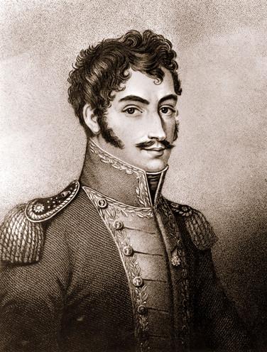 Simón Bolívar (1783–1830). Bildquelle: Wikimedia, Bate