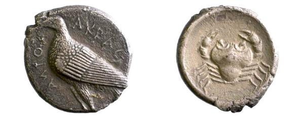 Tetradrachme von Akragas, 203–89 v. Chr. (Inv.-Nr. 2017/8357)