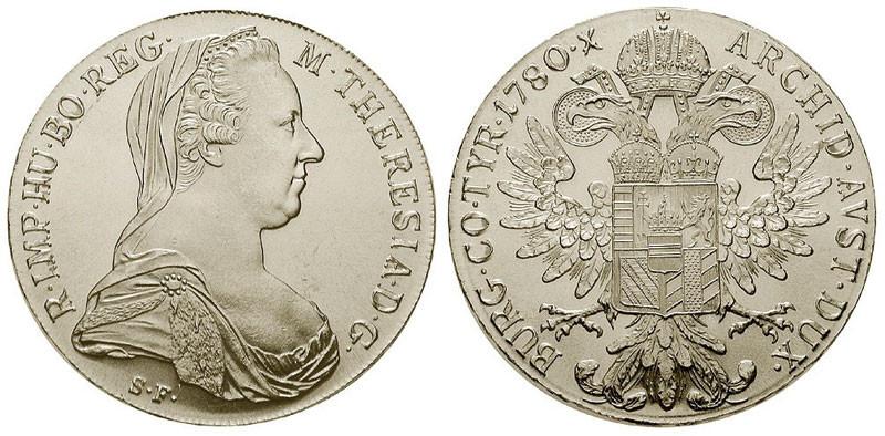 Maria-Theresien-Taler, Nachprägung mit dem Prägejahr 1780