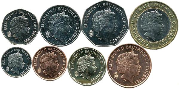 1 Penny bis 2 Pounds (1998-2012), AV, Kursmünzen, diverse Metalle und Parameter.