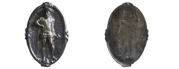 Medaille Frankreich-Navarra, 1557 (Inv.-Nr. 2018/0497)
