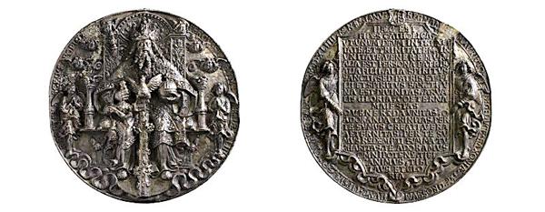 sächsische Medaille, 1544 (Inv.-Nr. 2018/0487)