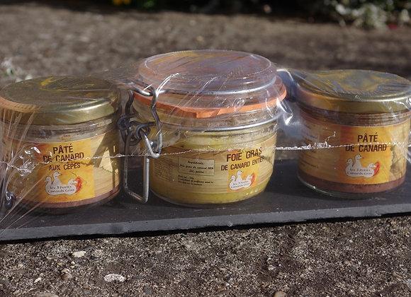 Ardoise Foie Gras + pâtés