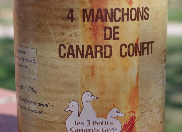Manchons confits X 4