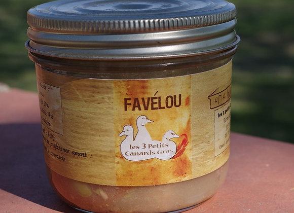 Favélou 400g-700g cassoulet aux fèves