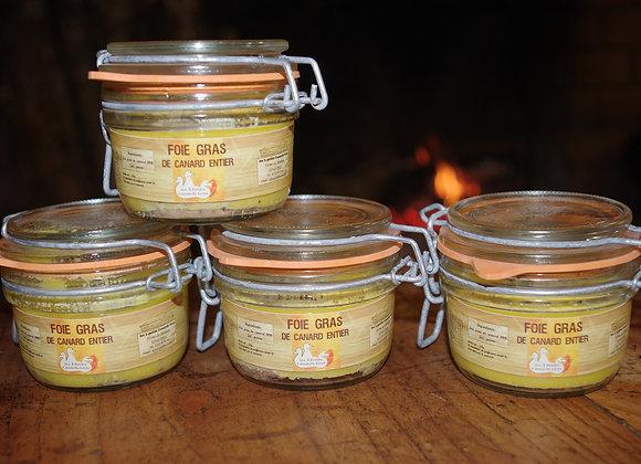 Foie gras de canard entier 3 bocaux + 1 offert