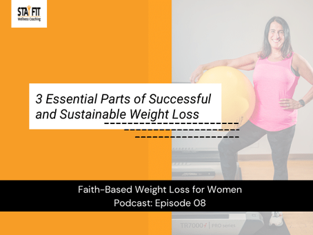 3 Essential Parts of Successful and Sustainable Weight Loss