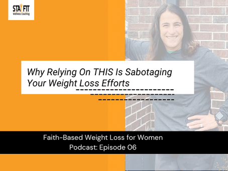 Why Relying On THIS Is Sabotaging Your Weight Loss Efforts